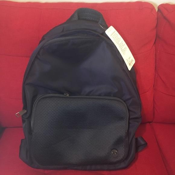 5c361ca79461 Lululemon athletica bags lululemon everywhere black backpack nwt jpg  580x580 Laptop bag lululemon